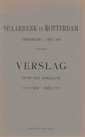 Spaarbank te Rotterdam 1912