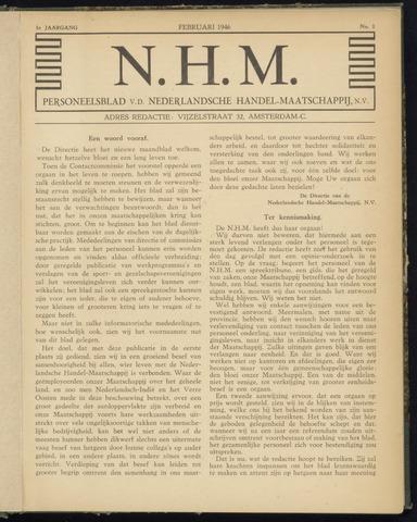 Nederlandsche Handel-Maatschappij - Ons Anker 1946
