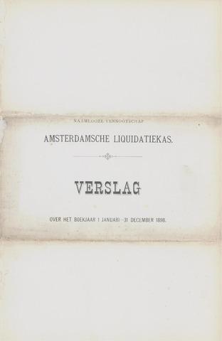 Amsterdamsche Liquidatiekas - Amsterdamsche Goederenbank 1898