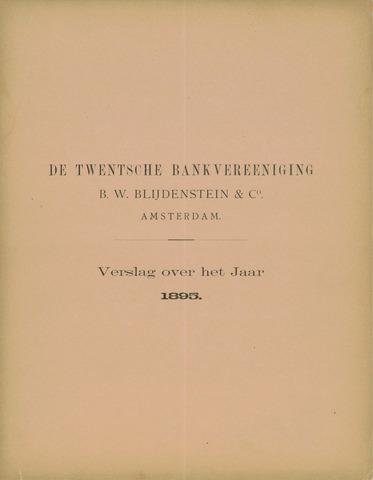 Twentsche Bank 1895