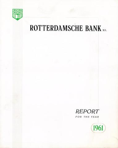 Rotterdamsche Bank 1961