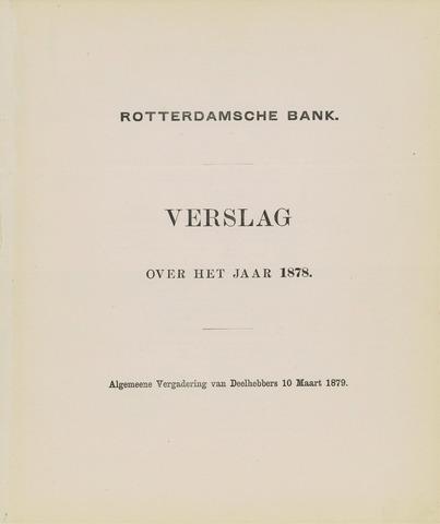Rotterdamsche Bank 1878