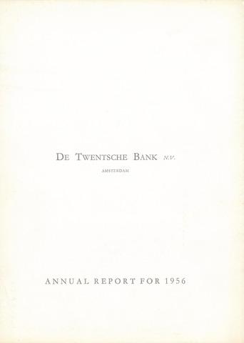 Twentsche Bank 1956