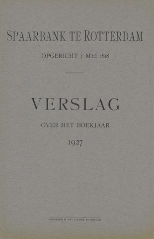 Spaarbank te Rotterdam 1927