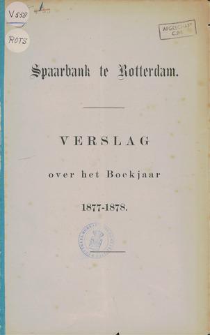 Spaarbank te Rotterdam 1877