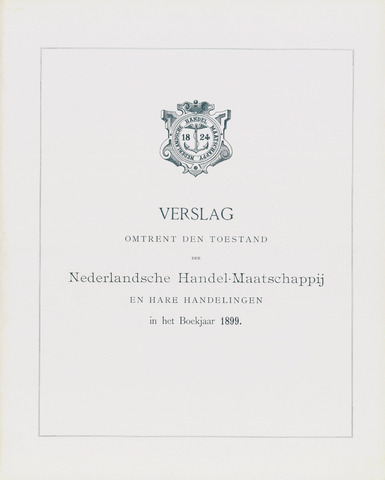 Nederlandsche Handel-Maatschappij 1899