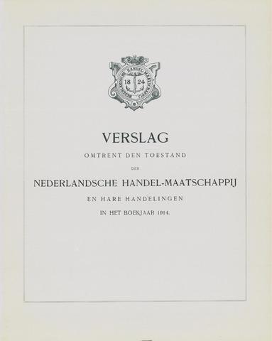 Nederlandsche Handel-Maatschappij 1914