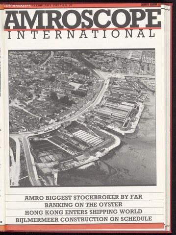Amro Bank - Amroscoop International 1985