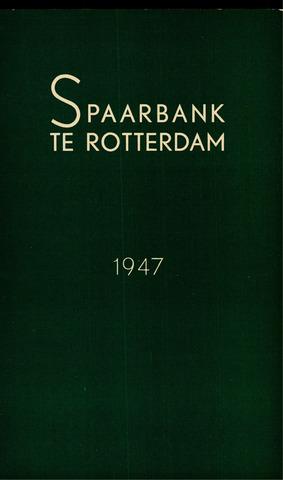 Spaarbank te Rotterdam 1947