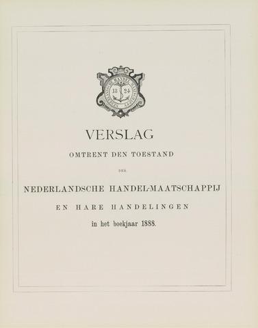 Nederlandsche Handel-Maatschappij 1888