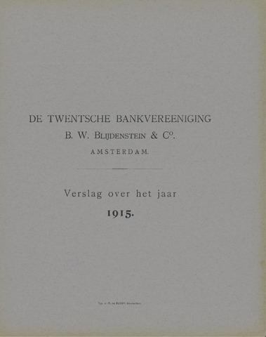 Twentsche Bank 1915