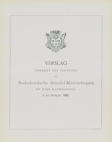 Nederlandsche Handel-Maatschappij 1895