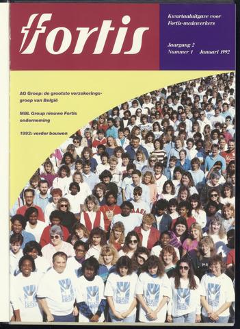 Fortis - Fortis Magazine 1992