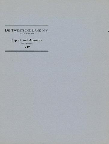 Twentsche Bank 1949