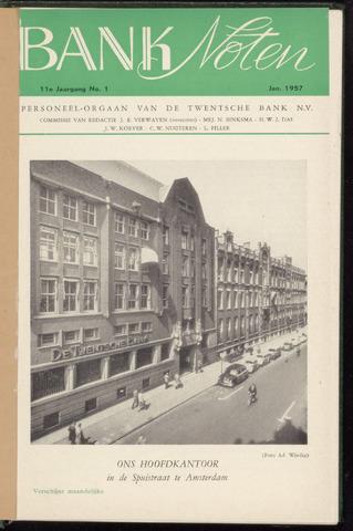 De Twentsche Bank - Banknoten 1957