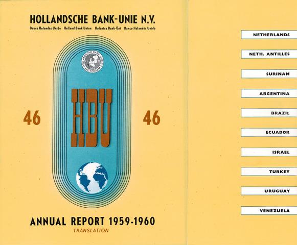 Hollandsche Bank-Unie 1959