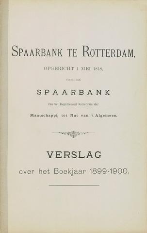 Spaarbank te Rotterdam 1899