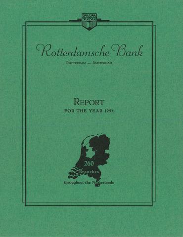 Rotterdamsche Bank 1954