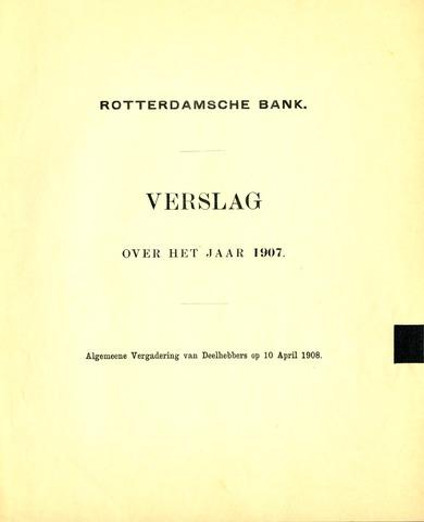 Rotterdamsche Bank 1907
