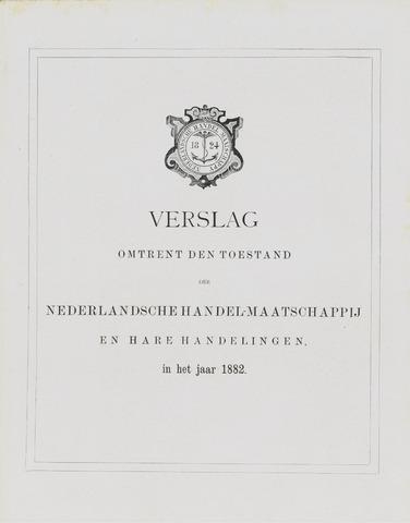 Nederlandsche Handel-Maatschappij 1882