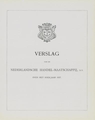 Nederlandsche Handel-Maatschappij 1937