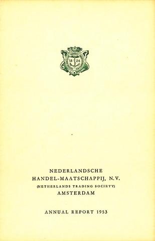 Nederlandsche Handel-Maatschappij 1953
