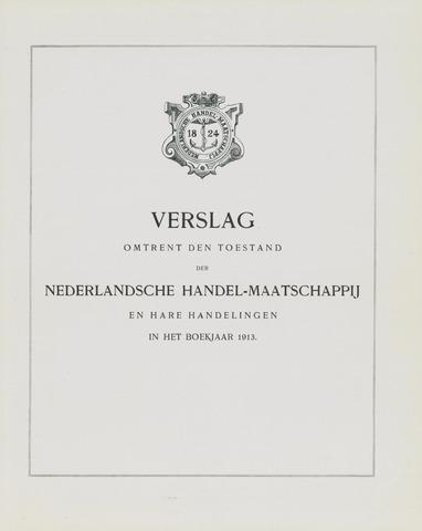Nederlandsche Handel-Maatschappij 1913
