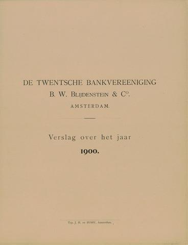 Twentsche Bank 1900