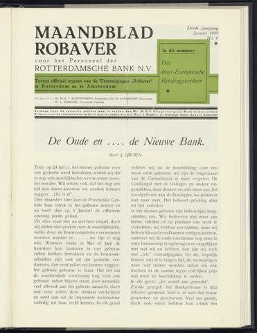 Rotterdamsche Bank - Robaver 1949
