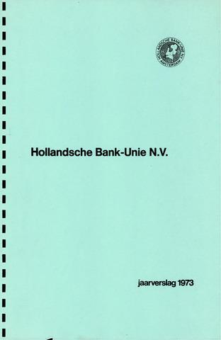Hollandsche Bank-Unie 1973