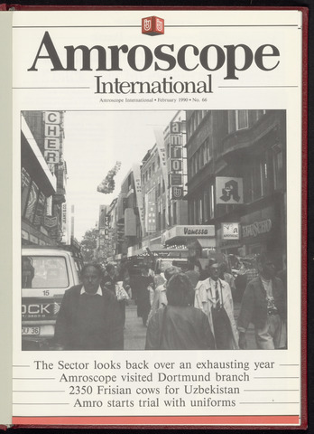 Amro Bank - Amroscoop International 1990