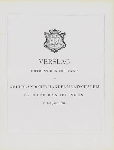 Nederlandsche Handel-Maatschappij 1884