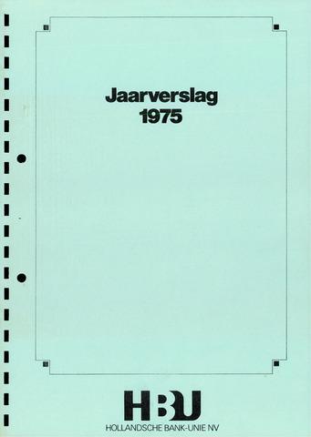 Hollandsche Bank-Unie 1975