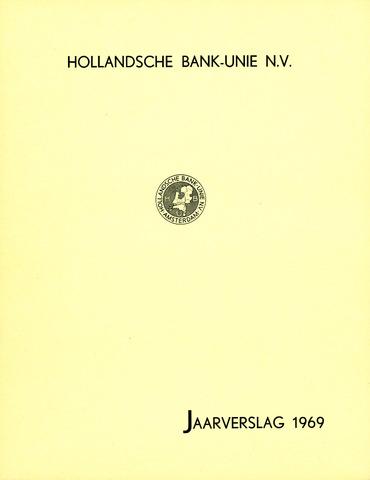 Hollandsche Bank-Unie 1969