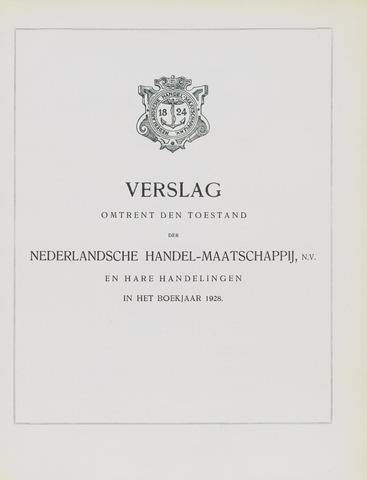 Nederlandsche Handel-Maatschappij 1928