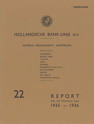Hollandsche Bank-Unie 1935