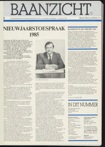 Bank Mees & Hope - Baanzicht 1985