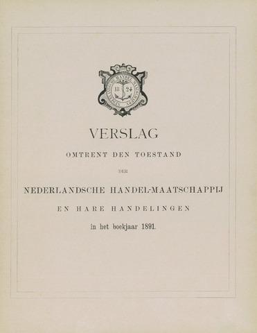 Nederlandsche Handel-Maatschappij 1891