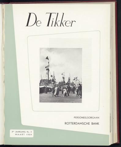 Rotterdamsche Bank - De Tikker 1959