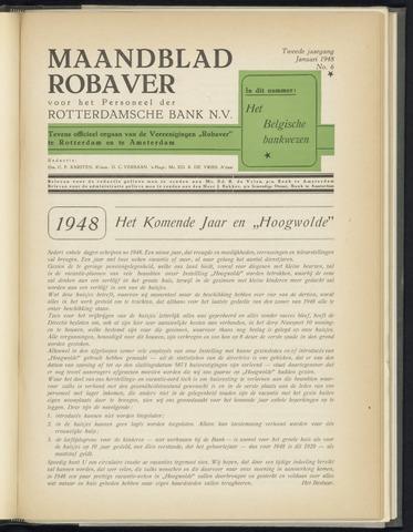 Rotterdamsche Bank - Robaver 1948