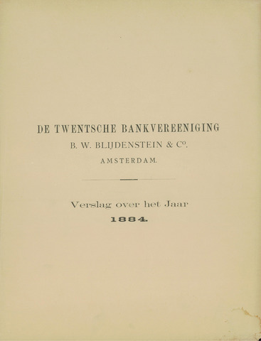 Twentsche Bank 1884