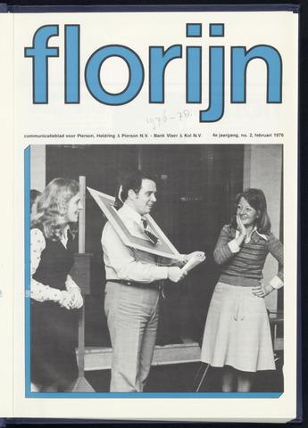 Pierson, Heldring & Pierson - Florijn 1976