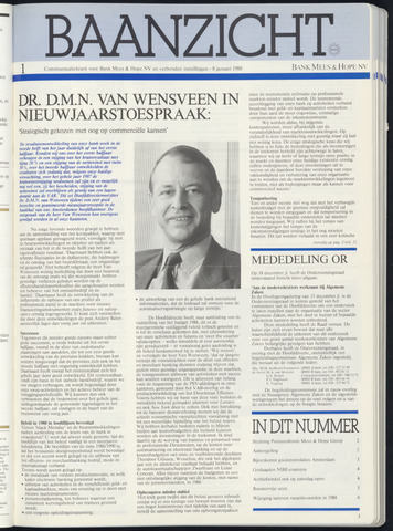Bank Mees & Hope - Baanzicht 1988