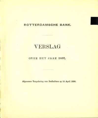 Rotterdamsche Bank 1897