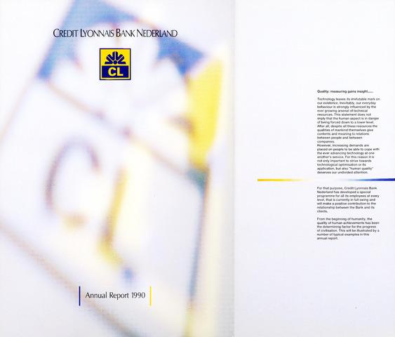 Credit Lyonnais Bank Nederland 1990