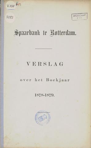 Spaarbank te Rotterdam 1878
