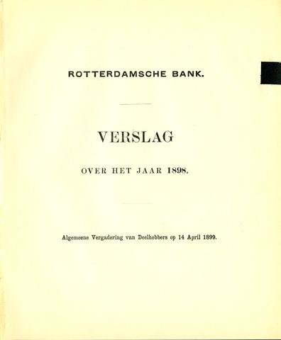 Rotterdamsche Bank 1898