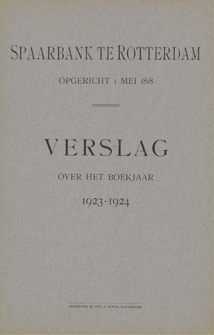Spaarbank te Rotterdam 1923