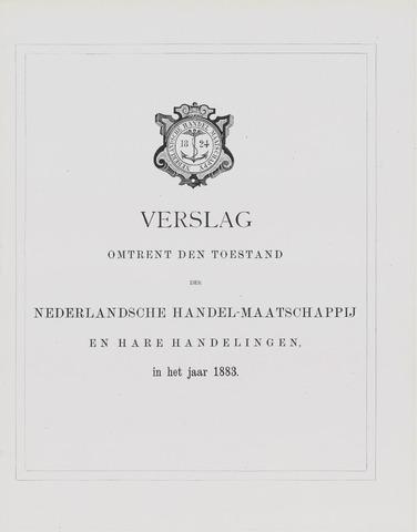 Nederlandsche Handel-Maatschappij 1883