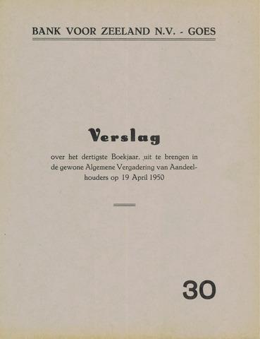 Bank voor Zeeland 1949